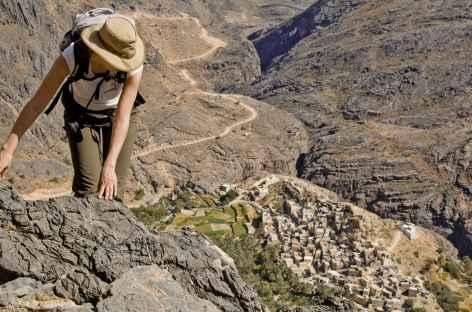 Trek entre Balad Sit et le col de Sharaf Al Alamain -