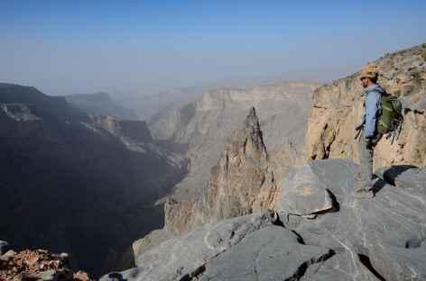 Trek dans le djebel Akhdar - Oman -