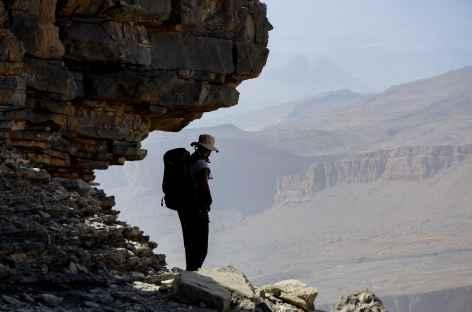 Trek dans les montagnes du Djebel Akhdar - Oman -