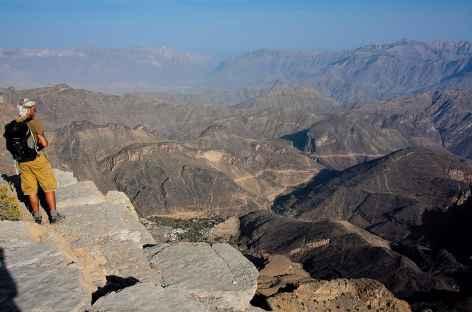 Depuis le col de Sharaf Al Alamain - Oman -