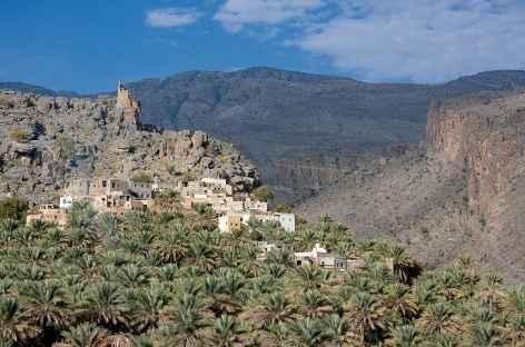 Village et palmeraie de Misfat Al Abreyeen - Oman -