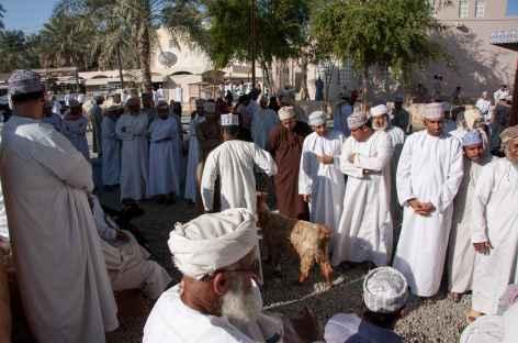Marché aux bestiaux de Nizwa - Oman -