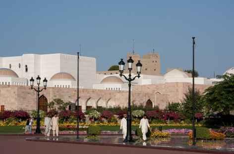 Quartier du Palais du Sultan, Mascate - Oman -