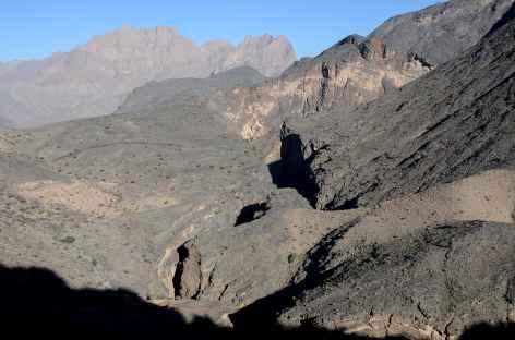 Snake Canyon, montagnes du Wadi Bani Awf - Oman -