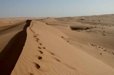 Rando dans les dunes du Wahiba - Oman -