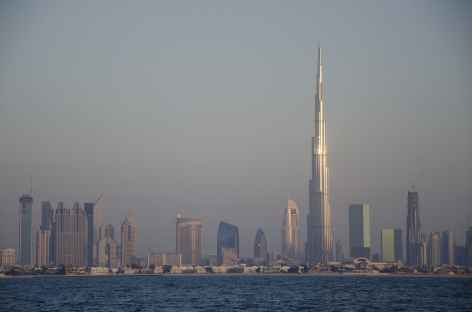 La skyline de Dubaï -