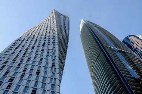 Quartier de Dubai Marina et sa Cayan Tower - Dubaï -