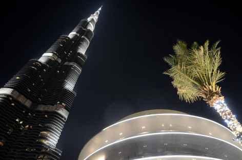 Burj Khalifa de nuit - Dubaï -
