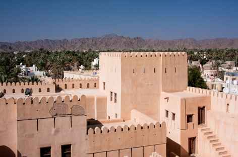 Ville de Nizwa et sa palmeraie - Oman -