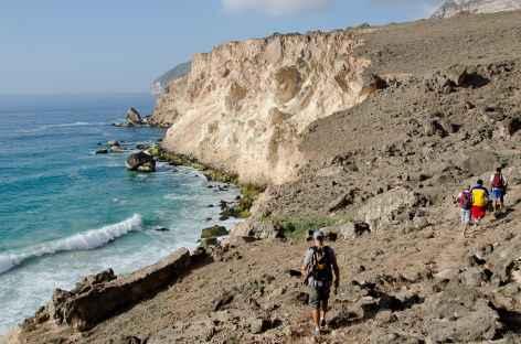 Littoral vers Fazayah, région du Dhofar - Oman -