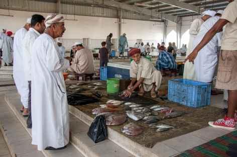 Souk aux poissons de Muttrah - Oman -