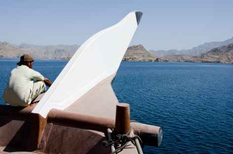 Sortie en boutre dans les fjords du Musandam - Oman -
