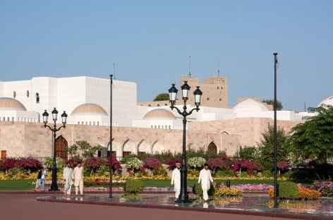Ville de Mascate, vers le Palais du Sultan - Oman -