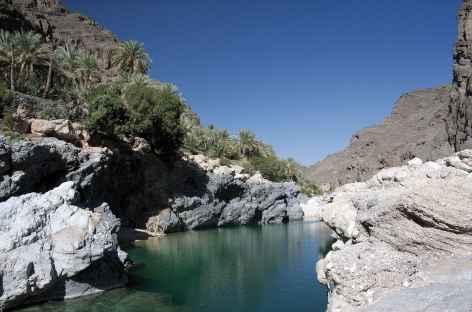 Vasque de Wadi Tiwi - Oman -