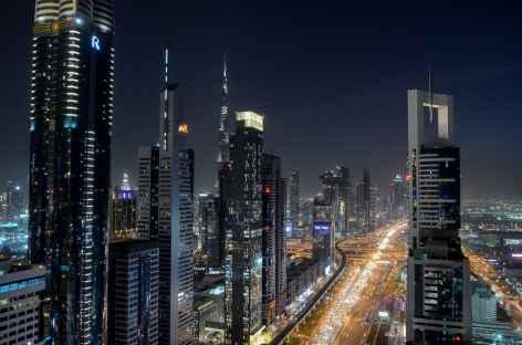 Dubai by night -