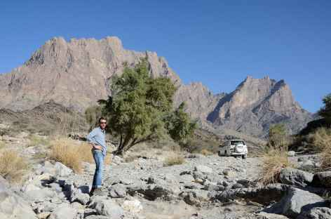 Montagnes du Wadi Bani Awf - Oman -