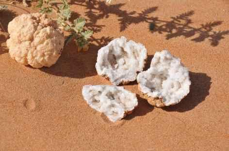 Géode, désert du Rub Al Khali - Oman -