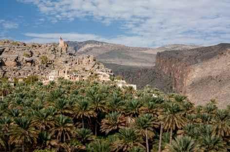 Ville de Misfat Al Abreyeen - Oman -