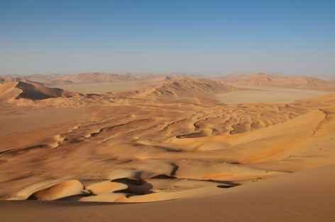 Randonnée dans les dunes du Rub Al Khali - Oman -