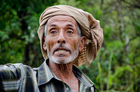 Rencontre au détour d'un sentier - Oman -
