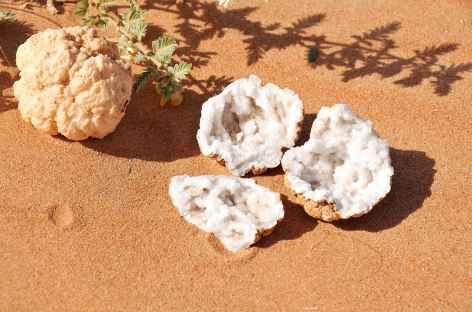 Géodes dans le Rub Al Khali - Oman -