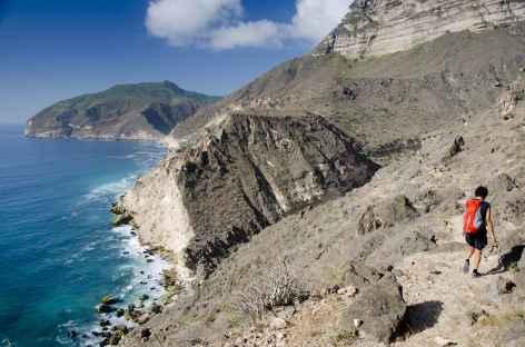 Randonnée côtière vers Fizayah - Oman -