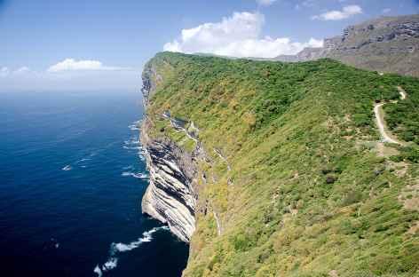 Belvédère magnifique sur la côte du Dhofar - Oman -