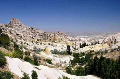 Village forteresse d'Uchisar, Cappadoce - Turquie -