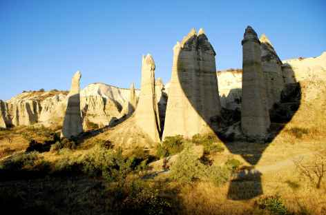Montgolfières dans le ciel de Cappadoce - Turquie -