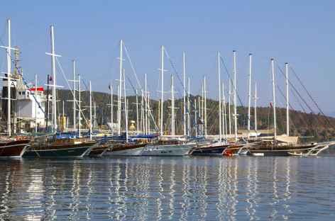 Au port de Fethiye - Turquie -