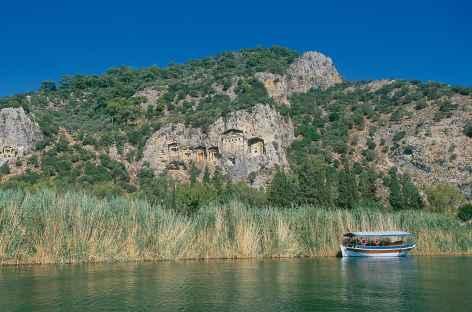 Tombeaux lyciens de Caunos - Turquie -
