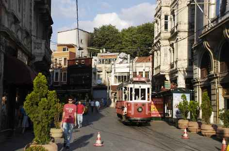 Quartier Sirkeçi à Istanbul - Turquie -