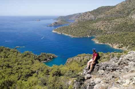 Randonnée sur la côte lycienne - Turquie -