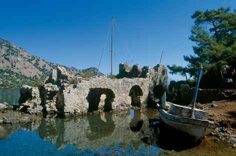 Vestiges des bains de Cléopatre - Turquie -