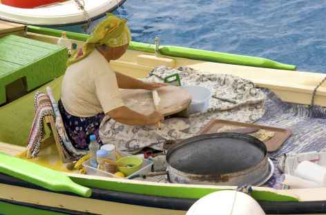 Fabrication de galettes - Turquie -
