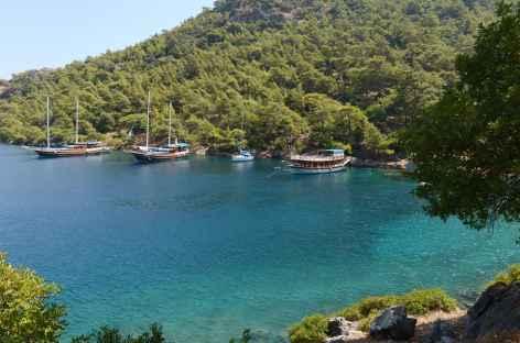 Une des nombreuses criques sauvages de la Lycie - Turquie -