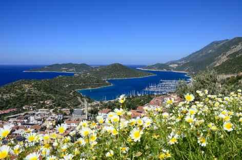 Sur les hauteurs de Kas, Lycie - Turquie -