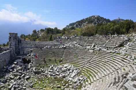 Théâtre de Termessos - Turquie -