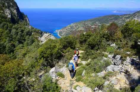 Marche entre Alinca et Faralya, Lycie - Turquie -
