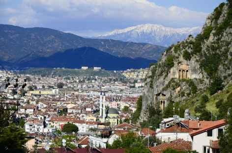 Ville de Fethiye Lycie - Turquie -