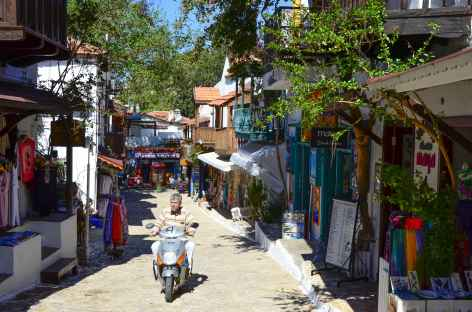 Ruelles de Kas, Lycie - Turquie -