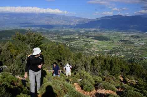 Rando entre Pinara et le village de Yakabag, Lycie - Turquie -