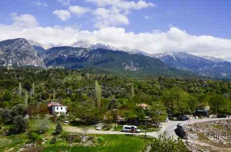Vers le site antique de Tlos, Lycie - Turquie -
