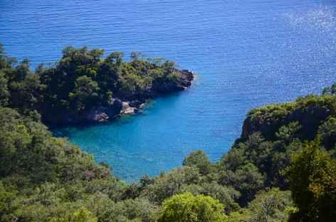Crique sauvage sur la côte lycienne - Turquie -
