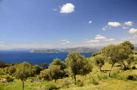 Côte sauvage entre Alinca et Faralya, Lycie - Turquie -