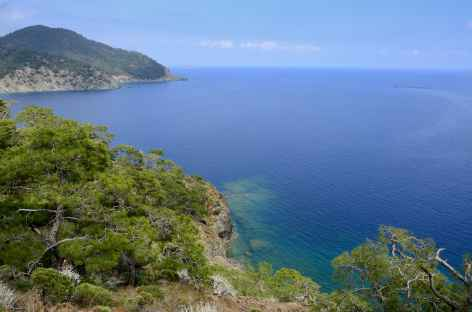 Randonnée cotière entre Çirali et Maden, Lycie - Turquie -