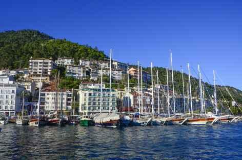 Port de plaisance de Fethiye, Lycie - Turquie -