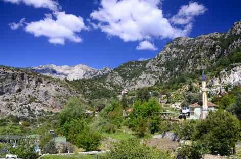Village de Faralya, Lycie - Turquie -