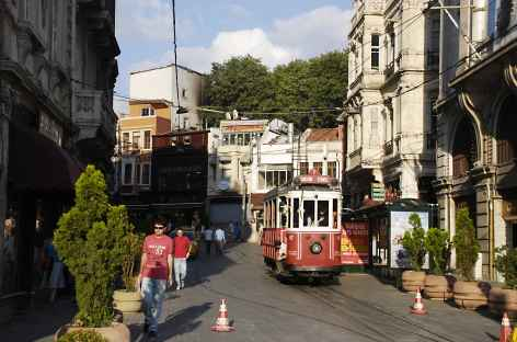 Quartier Sirkeci à Istanbul - Turquie -