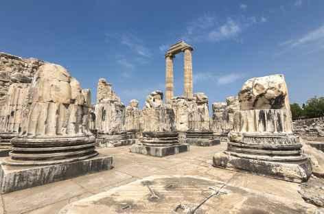 Le temple d'Appolon à Didymes - Turquie -